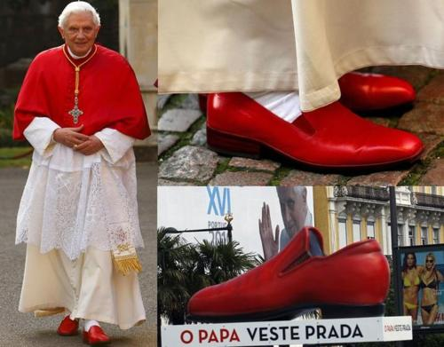 Red Prada Shoes Pope – images free download